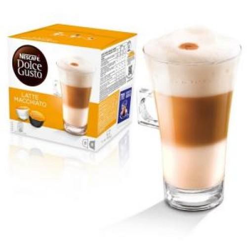 Капсулы для кофеварок Nescafe Dolce Gusto Латте Маккиато