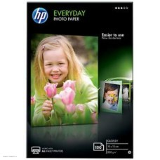 Фотобумага Hewlett-Packard 10x15см, 200 г/м2, 100 листов, глянцевая (CR757A)