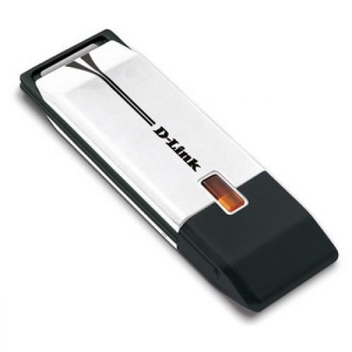 Адаптер D-Link DWA-160/RU/C1A  N 802.11a/b/g/n USB adapter