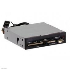 Устройство чтения/записи All in 1 Ginzzu + USB USB 2.0 Int 3.5