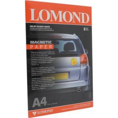 Бумага Lomond магнитная глянец, А4, 2 листа. (2020345)