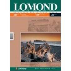 Бумага Lomond для струйной печати А4, 230 г/м2, 25 листов, матовая (0102050)