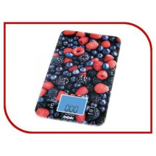 Весы кухонные BBK KS-107G dark blue/red