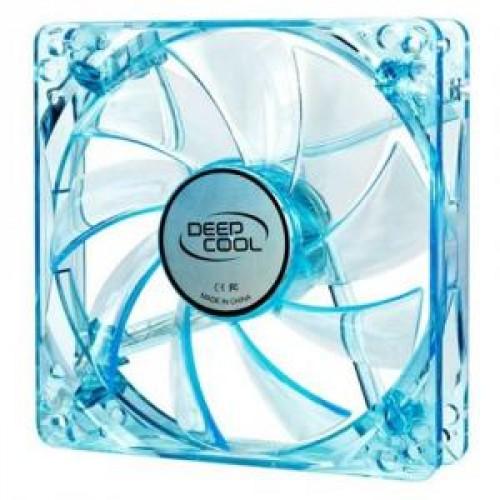 Вентилятор 120x120x25 мм Deepcool WIND BLADE 120 3pin 27dB 1300rpm 119g голубой LED