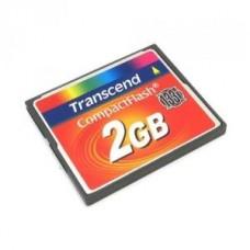 Карта памяти Compact Flash 2Gb Transcend 133x (TS2GCF133)