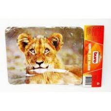 Коврик для мыши BURO BU-M40030 рисунок/лев (230x180x2mm)