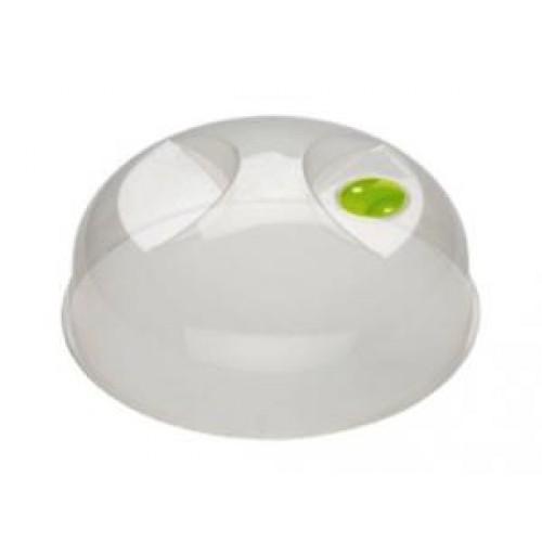Крышка для СВЧ БЫТПЛАСТ с декором D230 мм, пластик