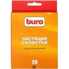 Салфетки чистящие сухие безворсовые BURO BU-Udry