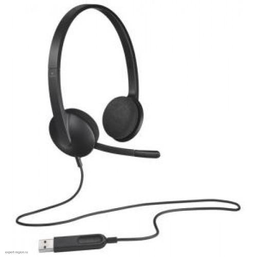 Наушники с микрофоном Logitech H340 (981-000475/981-000508)