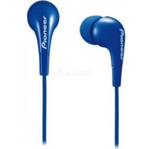 Наушники Pioneer SE-CL502-L 1.2м синий проводные