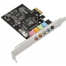 Звуковая карта CMedia CMI8738 5.1-ch, PCI-Ex1, OEM