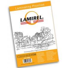 Плёнка глянцевая 75x105 125 mk Lamirel LA-78663 (100шт.) для ламинирования
