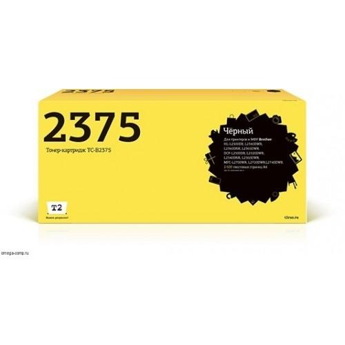 Тонер-картридж TC-B2375 Brother HL-L2300DR/L2340DWR/DCP-L2500DR/L2520DWR/MFC-L2700WR (T2) 2600 стр.