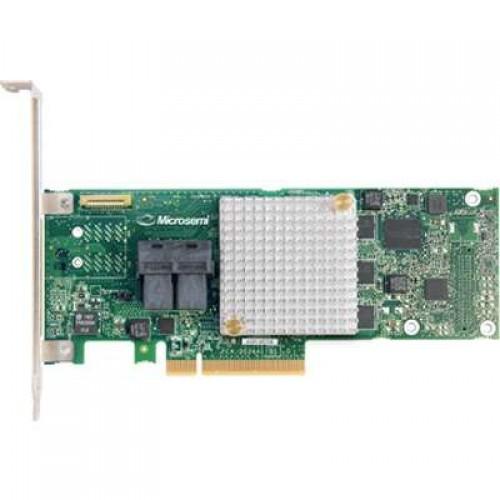 Контроллер Adaptec ASR-8805E (PCI-E v3, MD2, LP) SGL SAS 12G, RAID 0,1,10, 8port (intSFF8643), 512Mb cache