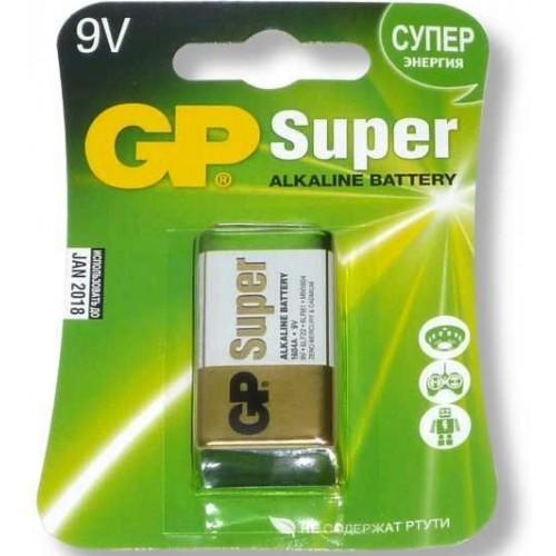 Батарейки щелочные GP 1604A-5CR1 9V E 1шт