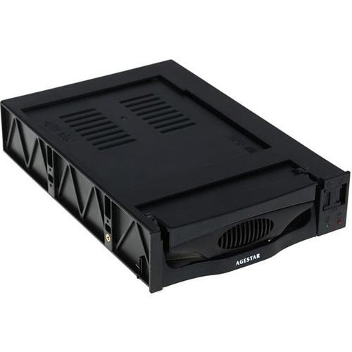 """Салазки AGESTAR MR3-SATA (SW)-1F HDD 3.5"""" black (SR3P"""