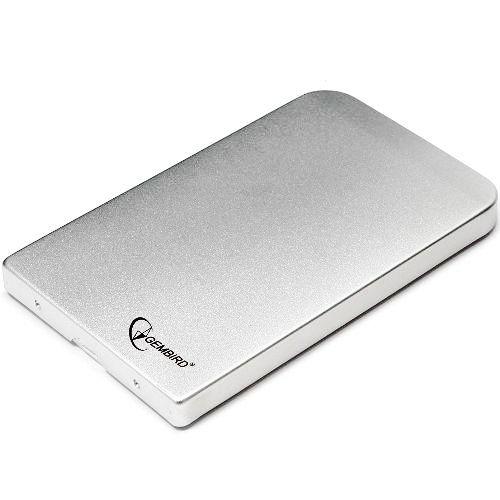 "Контейнер внешний Gembird EE2-U2S-41-S USB 2.0, 2.5""HDD, SATA, серебристый"