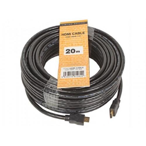 Кабель HDMI 19M-19M 20.0м CG150S-20M v1.4 TV-COM Retail