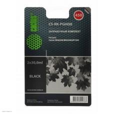 Заправочный набор HP MG 6340/5440/IP7240 Black (Cactus) 3x30ml