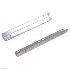 Направляющие (уголки) для напольных шкафов, глубина 580-620мм, пара (УО-58/62)