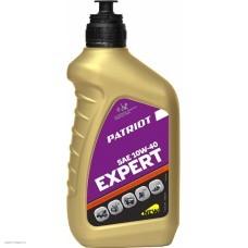 Масло полусинтетическое Patriot EXPERT HIGH-TECH SAE 10W40 4Т, 0.946мл