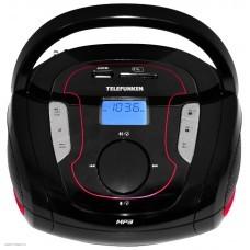 Магнитола Telefunken TF-SRP3471B (2 Вт, CD, MP3, FM, USB) красный