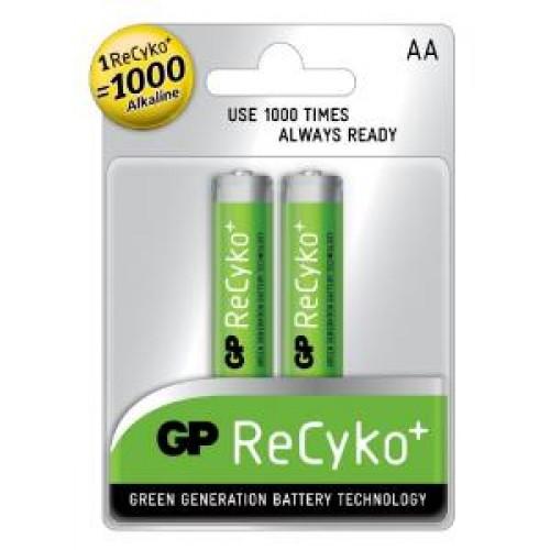 Аккумулятор GP AA Recyko 2100 Series (210AAHCB-UC2)