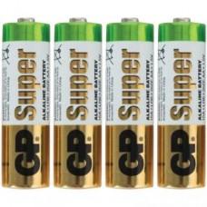 Батарейки алкалиновые GP Super Alkaline 15ARS LR6 (AA)