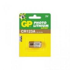 Батарейки литиевые GP Lithium CR123A (1шт)