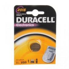 Батарейки литиевые Duracell CR2016