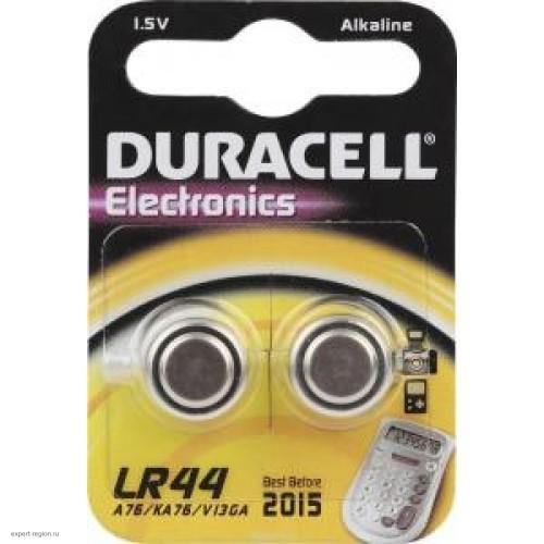 Батарейки щелочные Duracell LR44-2BL