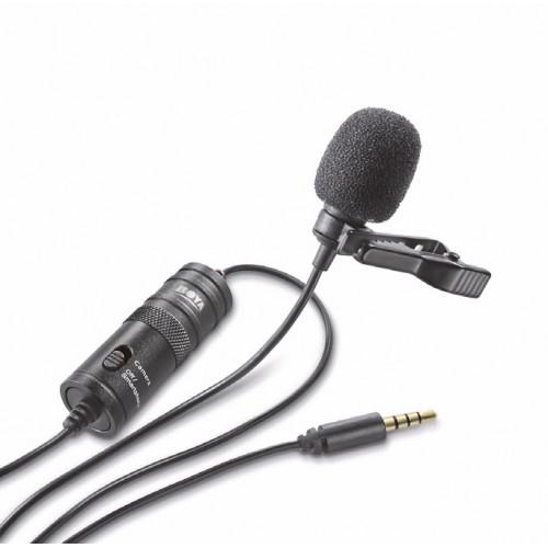 Микрофон петличный Boya BY-M1 всенаправленный