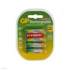 Аккумулятор GP 100AAAHC3/1-2CR4, AAA, 1.2V 1Ah 4шт.