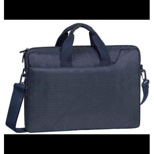 "Сумка для ноутбука Riva 8035 dark blue 15.6"" полиэстер"