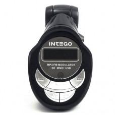 Трансмиттер FM Intego FM-102 (AUX/USB/SD)