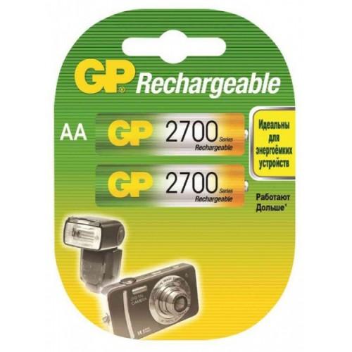 Аккумулятор GP AA (2700mAh) 270AAHC-2DECRC2 NiMH (2шт)