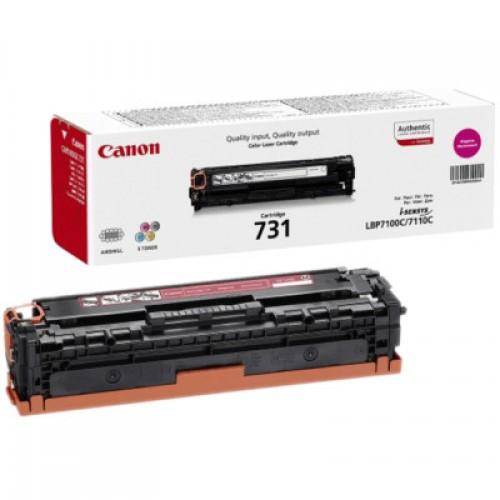 Картридж Canon LBP-7110 (Cartridge 731M) 1500стр Magenta (6270B002)