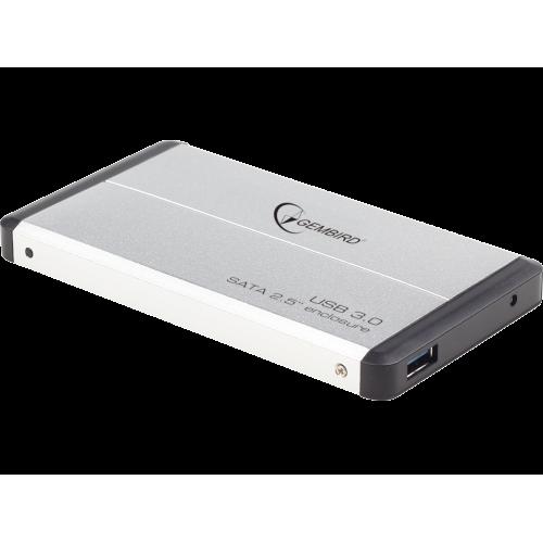 "Контейнер внешний Gembird EE2-U3S-2-S USB 3.0, 2.5""HDD, SATA, серебристый"