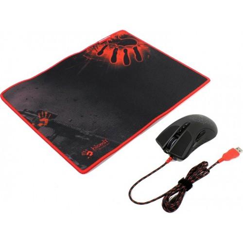 Манипулятор Mouse A4 Bloody A9081 (коврик в комплекте)
