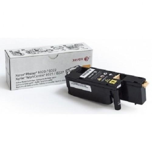 Тонер-картридж 106R02762 Rank Xerox Phaser 6020/6022/WC 6025/27 Yellow