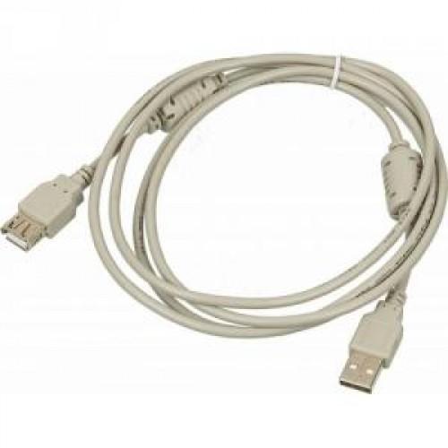 Кабель удлинитель USB2.0 Am-Af 1.8m NINGBO ферритовый фильтр (USB2.0-AM/AF-1.8M-MG)