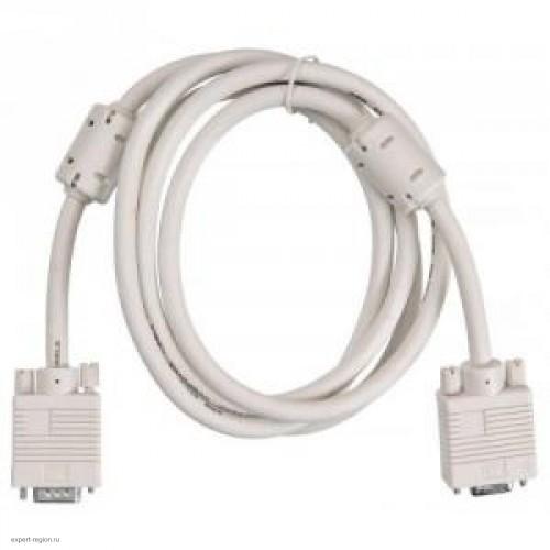 Кабель-удлинитель BURO CAB015S-06 VGA HD15 (m) 1.8м, gray, VGA HD15 (f), ферритовый фильтр (CAB015S-06)