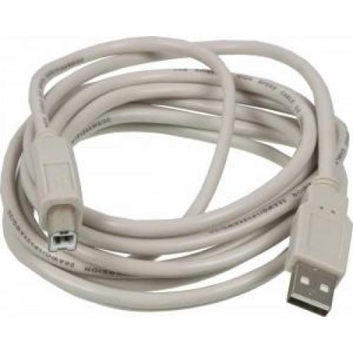 Кабель USB2.0 A(m) -> USB B(m) NINGBO 3м, блистер (USB2.0-AM-BM-3-BR)