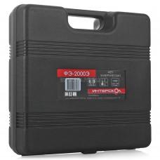 Фен технический Интерскол ФЭ-2000Э, 2000 Вт, (80C°-600C°,300-500 л/мин);кейс+н-р насадок