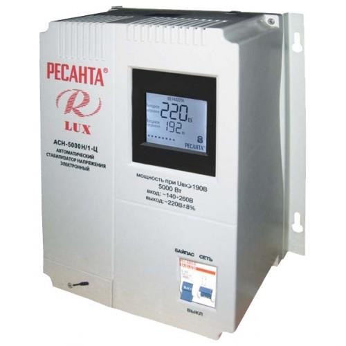 Стабилизатор Ресанта АСН-5000 Н/1-Ц Lux