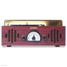 Проигрыватель винила ION Audio TRIO LP механический черный FM/AM-радио