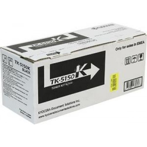 Тонер-картридж TK-5150K Kyocera TASKalfa M6035cidn/M6535cidn Black 12000стр.