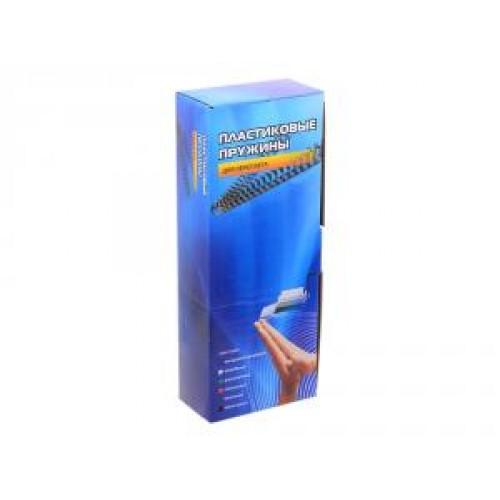 Пружины для переплета пластик Office Kit BP2021 A4, d=10 мм (51-70 листов) белая