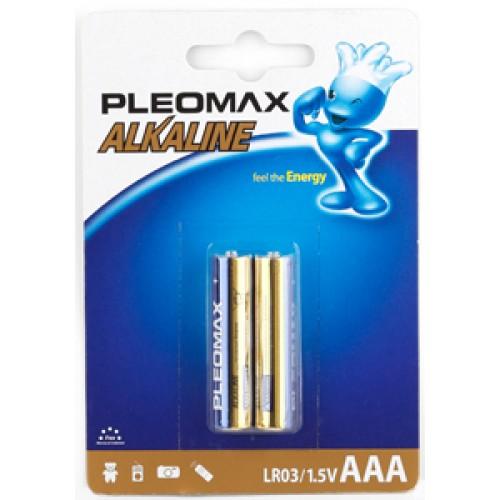 Батарейки щелочные Samsung Pleomax LR03-2BL