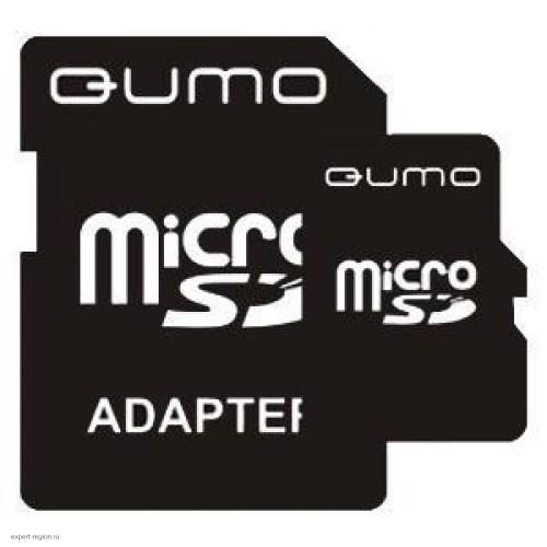 Карта памяти microSD Card 2Gb Qumo (QM2GMICSD)